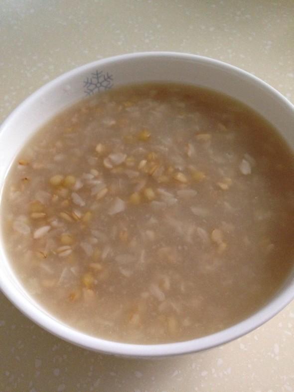 小麦燕麦粥