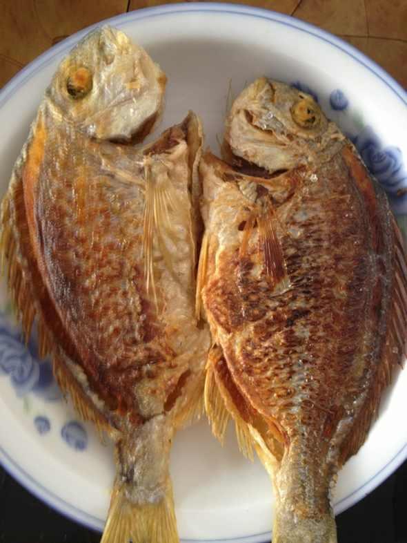 香煎海鱼图片